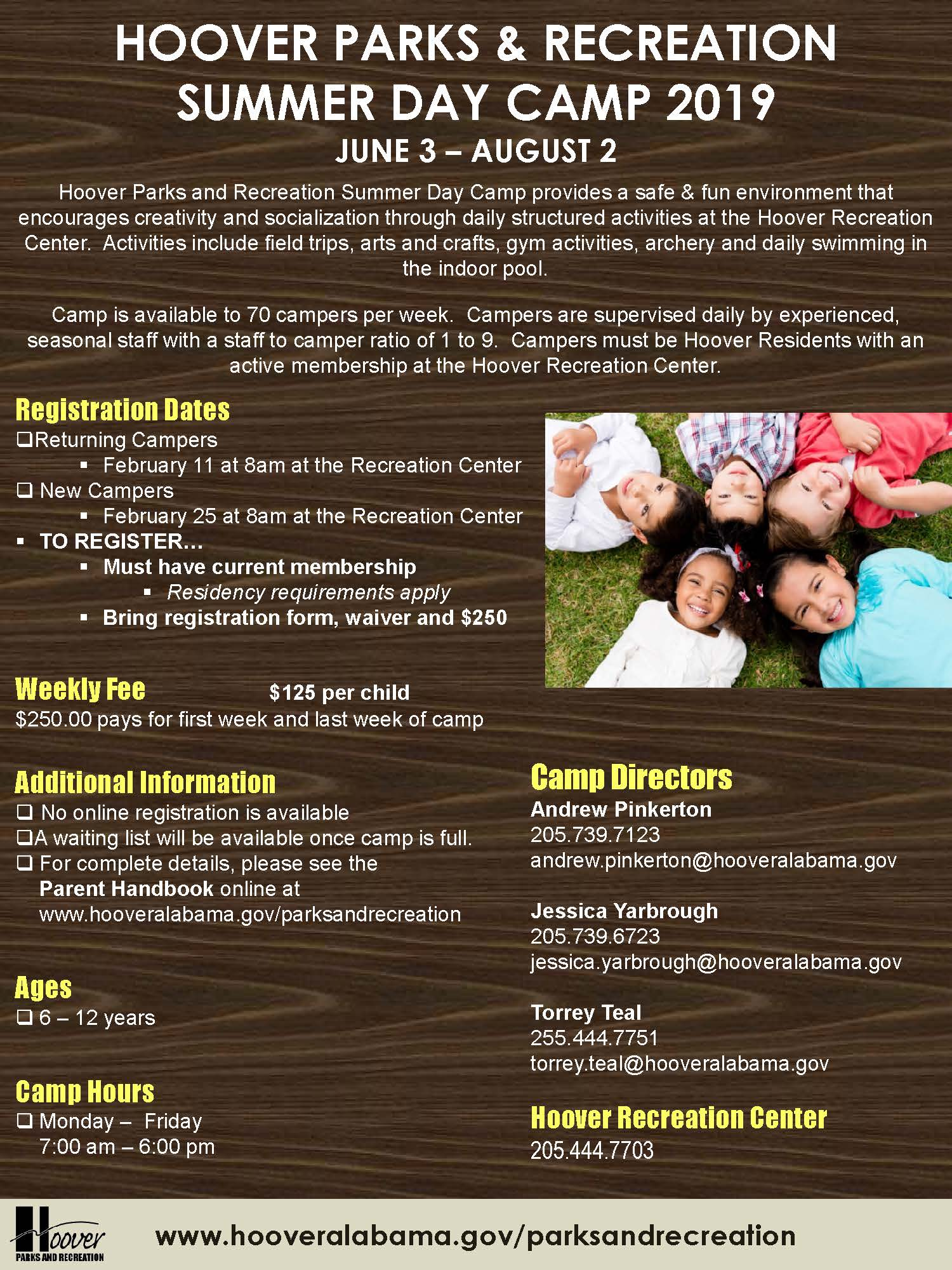 Day Camp Flyer 2019